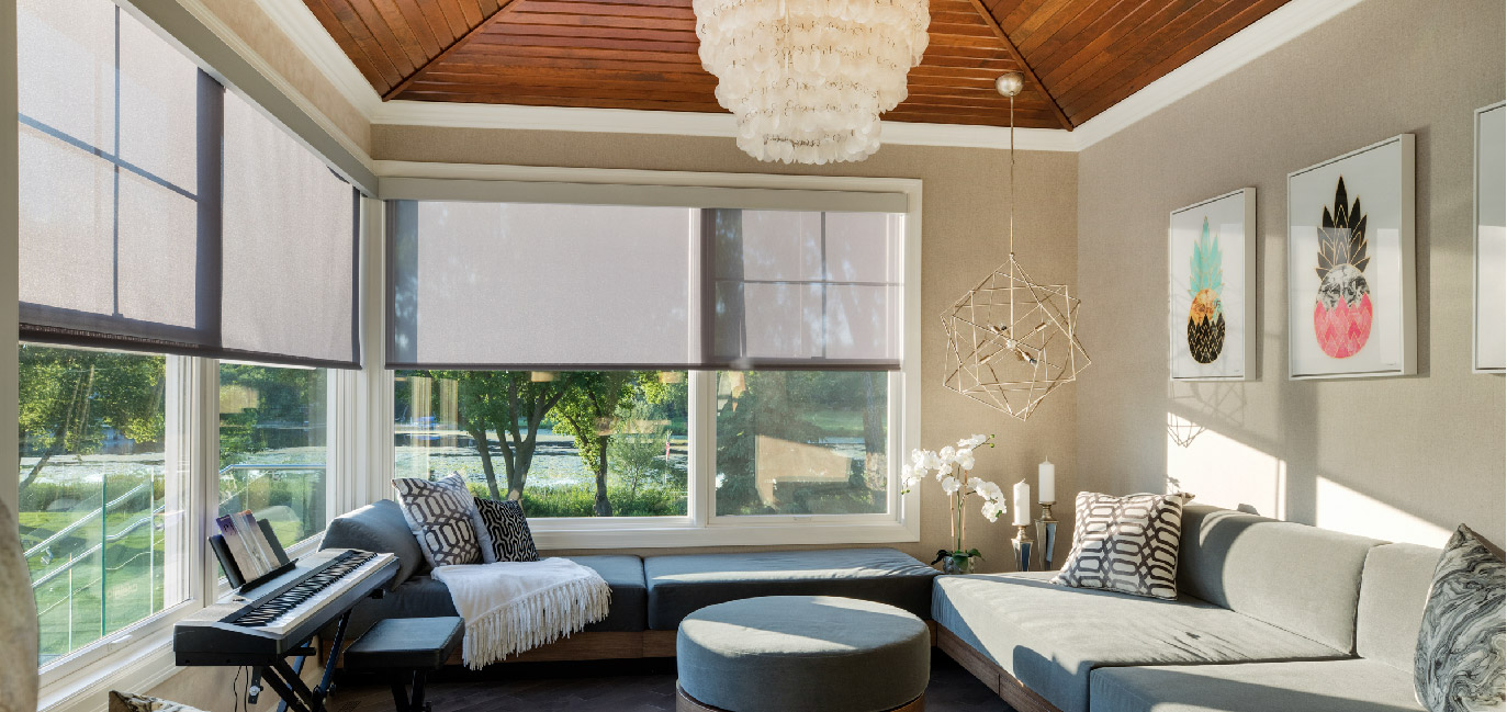 motorized window treatments image