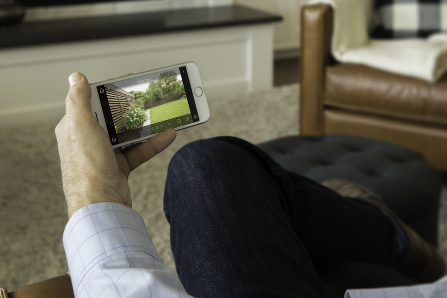 While You're at Home, Gain Peace of Mind with Smart Surveillance