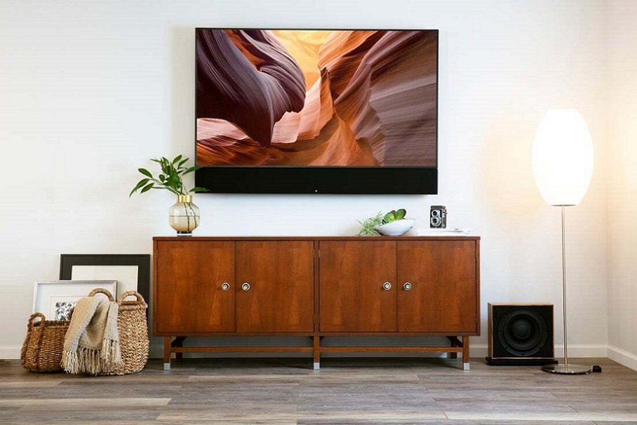 Leon Hidden TVs Seamlessly Become a Part of Your Home Décor