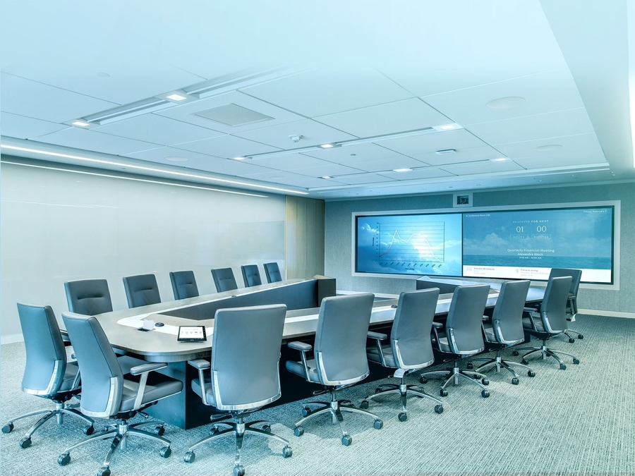 Conduct a Variety of Meetings with an Easy-to-Use Conference Room Installation