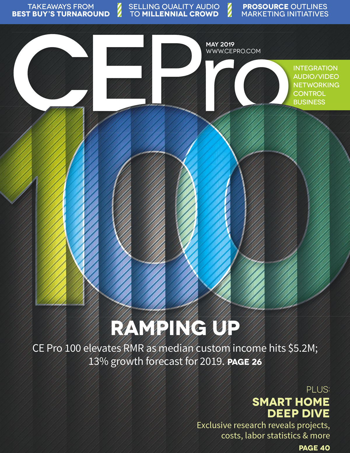 Lelch AV on CE Pro 20th Annual Top 100 List