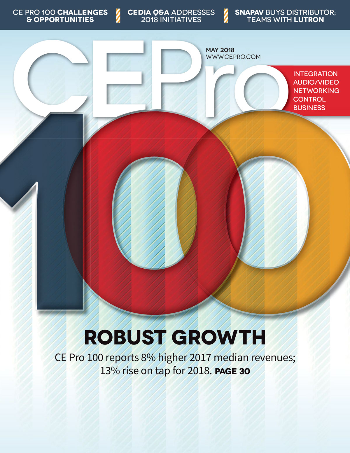 Lelch AV on CE Pro 19th Annual Top 100 List