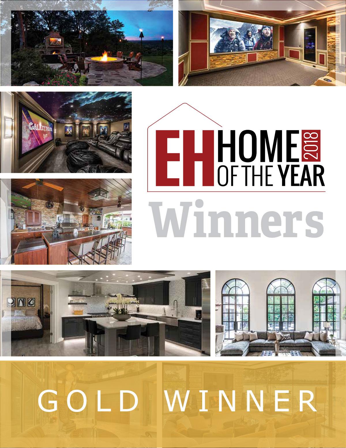 Gold Winner: Lelch AV is EHome of the Year Winner